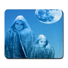 Full Moon Rising Large Mouse Pad (rectangle) by icarusismartdesigns