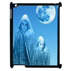 Full Moon Rising Apple Ipad 2 Case (black) by icarusismartdesigns
