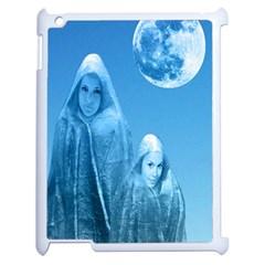 Full Moon Rising Apple Ipad 2 Case (white) by icarusismartdesigns