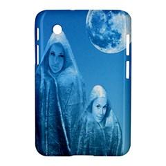 Full Moon Rising Samsung Galaxy Tab 2 (7 ) P3100 Hardshell Case  by icarusismartdesigns