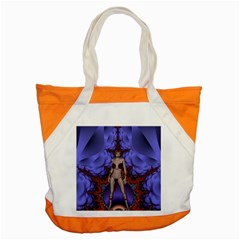 Chaos Accent Tote Bag by icarusismartdesigns