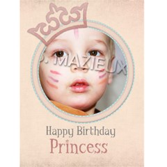 Birthdaycard By Elfie   Greeting Card 4 5  X 6    Pm7ymao5aa7x   Www Artscow Com Front Cover
