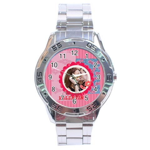 Love By Love   Stainless Steel Analogue Watch   Avindyy1cb60   Www Artscow Com Front