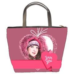 Love By Ki Ki   Bucket Bag   Xj6b2aa20lb1   Www Artscow Com Back