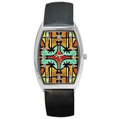 Lap Tonneau Leather Watch by dflcprints