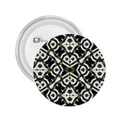 Abstract Geometric Modern Pattern  2 25  Button by dflcprints