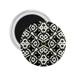 Abstract Geometric Modern Pattern  2 25  Button Magnet by dflcprints