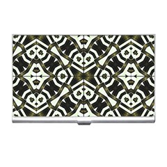 Abstract Geometric Modern Pattern  Business Card Holder by dflcprints