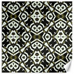 Abstract Geometric Modern Pattern  Canvas 12  X 12  (unframed) by dflcprints