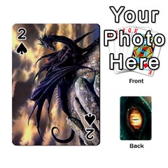 Jaden By Shawn Erickson   Playing Cards 54 Designs   5au6hooh2ivm   Www Artscow Com Front - Spade2
