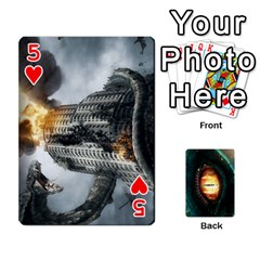 Jaden By Shawn Erickson   Playing Cards 54 Designs   5au6hooh2ivm   Www Artscow Com Front - Heart5