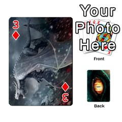 Jaden By Shawn Erickson   Playing Cards 54 Designs   5au6hooh2ivm   Www Artscow Com Front - Diamond3