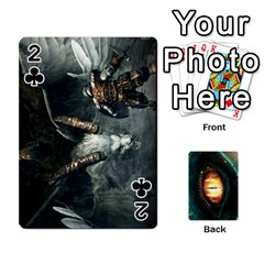 Jaden By Shawn Erickson   Playing Cards 54 Designs   5au6hooh2ivm   Www Artscow Com Front - Club2