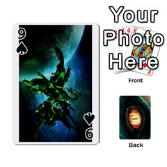 Jaden By Shawn Erickson   Playing Cards 54 Designs   5au6hooh2ivm   Www Artscow Com Front - Spade9