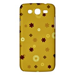 Abstract Geometric Shapes Design In Warm Tones Samsung Galaxy Mega 5 8 I9152 Hardshell Case  by dflcprints
