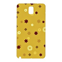 Abstract Geometric Shapes Design In Warm Tones Samsung Galaxy Note 3 N9005 Hardshell Back Case by dflcprints