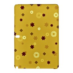 Abstract Geometric Shapes Design In Warm Tones Samsung Galaxy Tab Pro 10 1 Hardshell Case by dflcprints