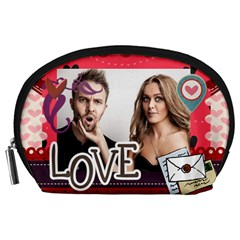 Love By Love   Accessory Pouch (large)   Swtvodmuc4dt   Www Artscow Com Front