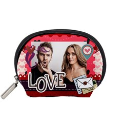Love By Love   Accessory Pouch (small)   Eki7hgh53kew   Www Artscow Com Front