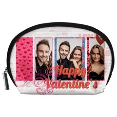 Love By Love   Accessory Pouch (large)   O7pu6zxkohbz   Www Artscow Com Front