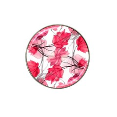 Floral Print Swirls Decorative Design Golf Ball Marker 10 Pack (for Hat Clip) by dflcprints