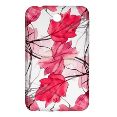 Floral Print Swirls Decorative Design Samsung Galaxy Tab 3 (7 ) P3200 Hardshell Case  by dflcprints