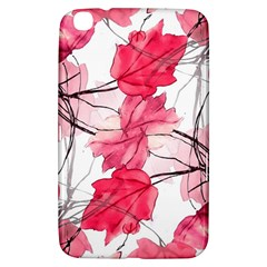Floral Print Swirls Decorative Design Samsung Galaxy Tab 3 (8 ) T3100 Hardshell Case  by dflcprints