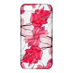 Floral Print Swirls Decorative Design Apple Iphone 5c Hardshell Case by dflcprints