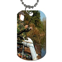 Jumping Jehoshaphat! Lazarath Come Forth ! A Fish Story!  By Pamela Sue Goforth   Dog Tag (two Sides)   43j01dxw39fi   Www Artscow Com Front
