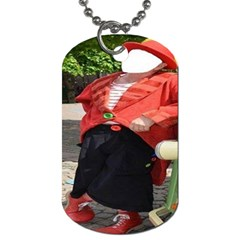 Clown ! By Pamela Sue Goforth   Dog Tag (two Sides)   9boyiixiaqfh   Www Artscow Com Front