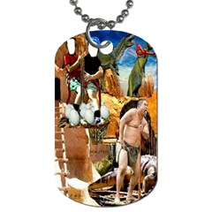 Dino Egg Experdition Seriies #2  By Pamela Sue Goforth   Dog Tag (two Sides)   Bt6q1w8g5r90   Www Artscow Com Front