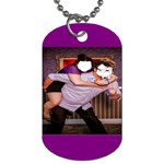 piggy back - Dog Tag (Two Sides)