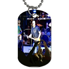 Singer With Audience! By Pamela Sue Goforth   Dog Tag (two Sides)   1699q9p45l4u   Www Artscow Com Front