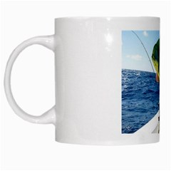 Gone Fishing ! By Pamela Sue Goforth   White Mug   Esvgio7fqmud   Www Artscow Com Left