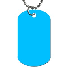 Blue Lite  By Pamela Sue Goforth   Dog Tag (two Sides)   Xkbzi9wv03k4   Www Artscow Com Back