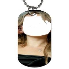 Heart Pendant By Pamela Sue Goforth   Dog Tag (two Sides)   9s65c63atqhy   Www Artscow Com Front