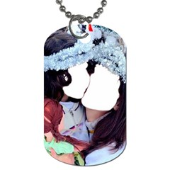 Selfie ! By Pamela Sue Goforth   Dog Tag (two Sides)   95r7dnycn0mh   Www Artscow Com Front