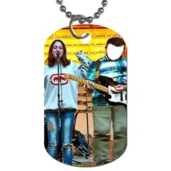 Signer  By Pamela Sue Goforth   Dog Tag (two Sides)   Cmut0bxlbsp5   Www Artscow Com Front