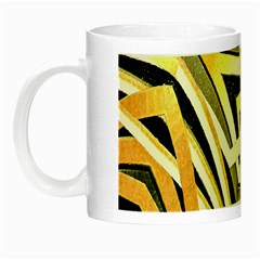 Art Print Tribal Style Pattern Glow In The Dark Mug by dflcprints