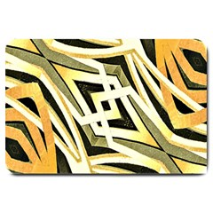 Art Print Tribal Style Pattern Large Door Mat by dflcprints