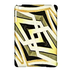 Art Print Tribal Style Pattern Apple Ipad Mini Hardshell Case (compatible With Smart Cover) by dflcprints
