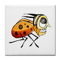 Funny Bug Running Hand Drawn Illustration Face Towel by dflcprints