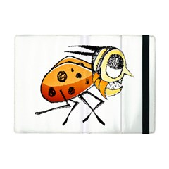 Funny Bug Running Hand Drawn Illustration Apple Ipad Mini Flip Case by dflcprints