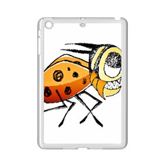 Funny Bug Running Hand Drawn Illustration Apple iPad Mini 2 Case (White) by dflcprints