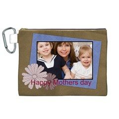 Mothers Day By Mom   Canvas Cosmetic Bag (xl)   Cesuy3snxoen   Www Artscow Com Front