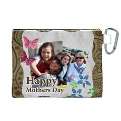 Mothers Day By Mom   Canvas Cosmetic Bag (xl)   6uzb39k67j1r   Www Artscow Com Back
