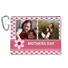 Mothers Day By Mom   Canvas Cosmetic Bag (xl)   Trpnxxys5ht5   Www Artscow Com Front