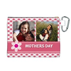 Mothers Day By Mom   Canvas Cosmetic Bag (xl)   Trpnxxys5ht5   Www Artscow Com Back