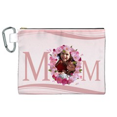 Mothers Day By Mom   Canvas Cosmetic Bag (xl)   Jkjinwqi5gqd   Www Artscow Com Front