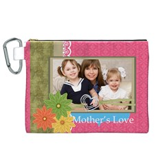 Mothers Day By Mom   Canvas Cosmetic Bag (xl)   W0s30bb34vmu   Www Artscow Com Front